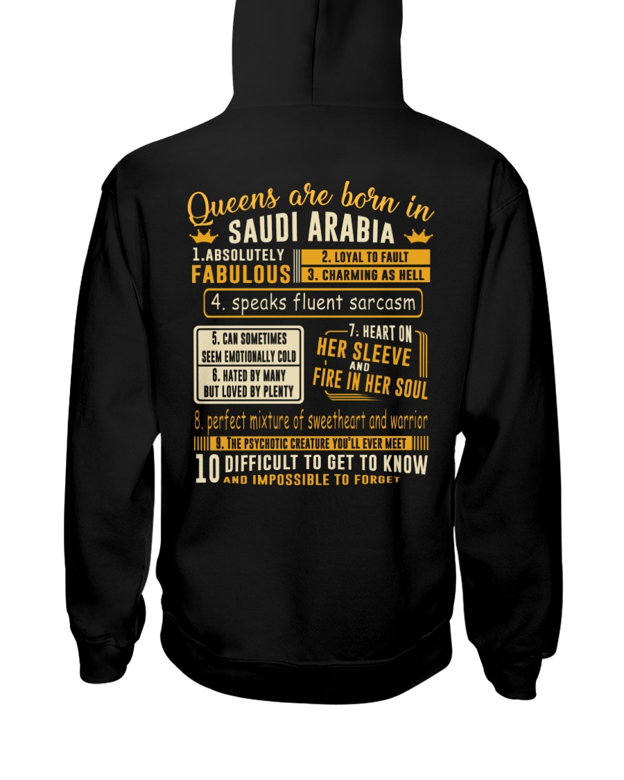 Queens Saudi Arabia Hooded Sweatshirt