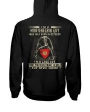MONTENEGRIN GUY - 010 Hooded Sweatshirt thumbnail