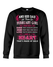 HEART GIRL - 02 Crewneck Sweatshirt thumbnail
