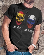 My Home Spain - Russia Classic T-Shirt lifestyle-mens-crewneck-front-4