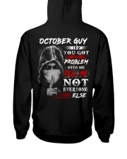 problem 10 Hooded Sweatshirt back