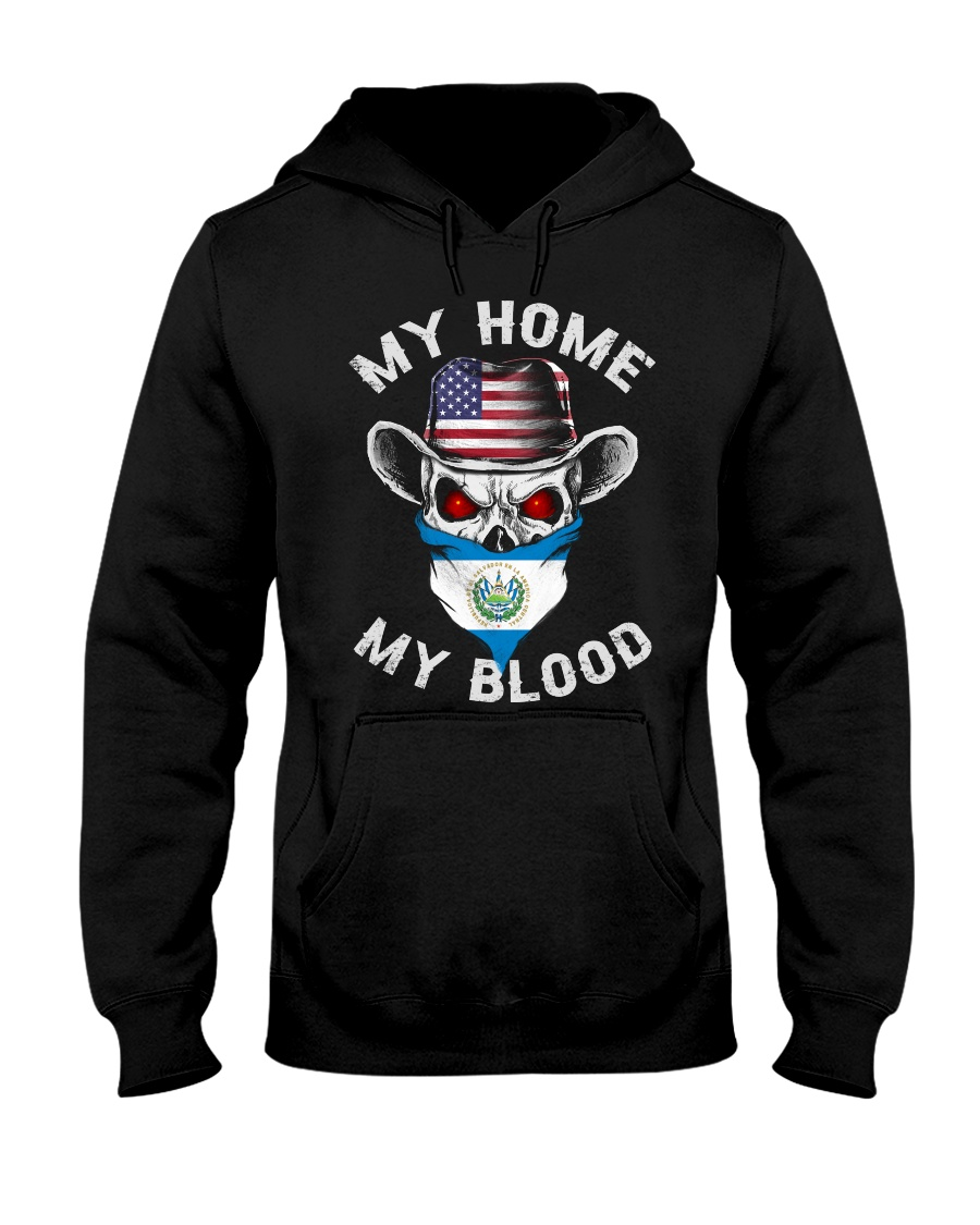 Salvadorian Hooded Sweatshirt