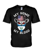 Salvadorian V-Neck T-Shirt thumbnail