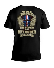 The Power - Icelander V-Neck T-Shirt thumbnail