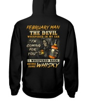DEVIL WHISKY 2 Hooded Sweatshirt back