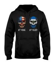 My Home America - Nicaraguan Hooded Sweatshirt thumbnail