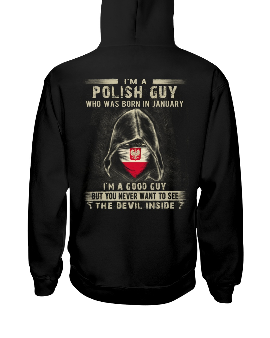 POLISH GUY - 01 Hooded Sweatshirt
