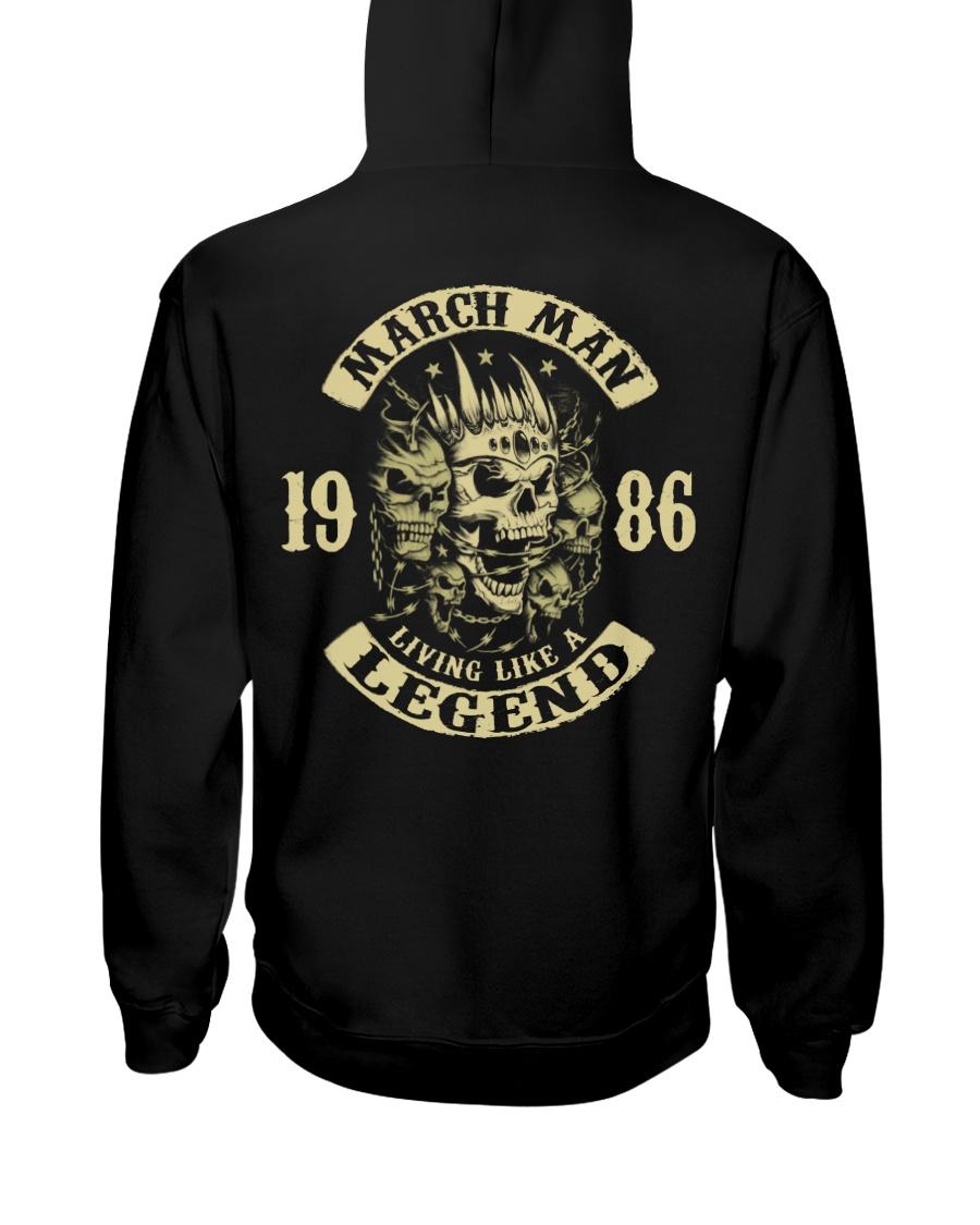 MAN 86-3 Hooded Sweatshirt