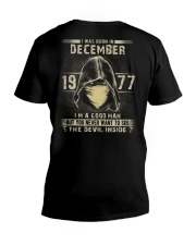 GOOD MAN 1977-12 V-Neck T-Shirt thumbnail