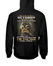 YOU CALL 10 Hooded Sweatshirt back