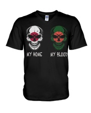 My Home Japan - Bangladesh V-Neck T-Shirt thumbnail