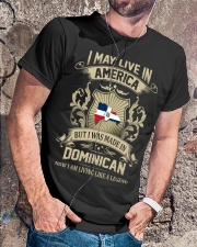 Live In America - Made In Dominican Classic T-Shirt lifestyle-mens-crewneck-front-4