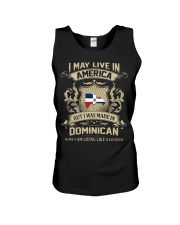 Live In America - Made In Dominican Unisex Tank thumbnail