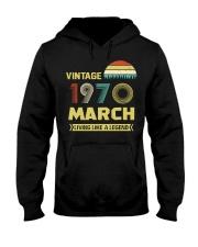 LIVING 70 3 Hooded Sweatshirt front