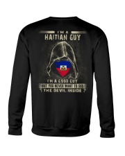 I'm A Good Guy - Haitian Crewneck Sweatshirt thumbnail