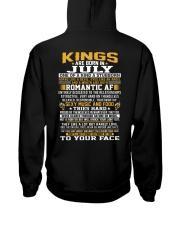 KINGS 7 Hooded Sweatshirt back