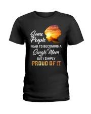 SINGLE MOM Ladies T-Shirt thumbnail