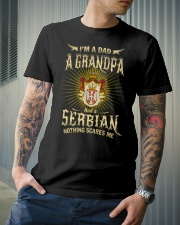 Dad-Serbian Classic T-Shirt lifestyle-mens-crewneck-front-6