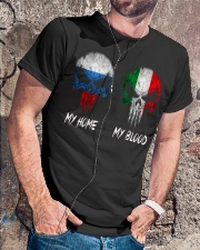 Home Russia - Blood Italy Classic T-Shirt lifestyle-mens-crewneck-front-4