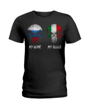 Home Russia - Blood Italy Ladies T-Shirt thumbnail