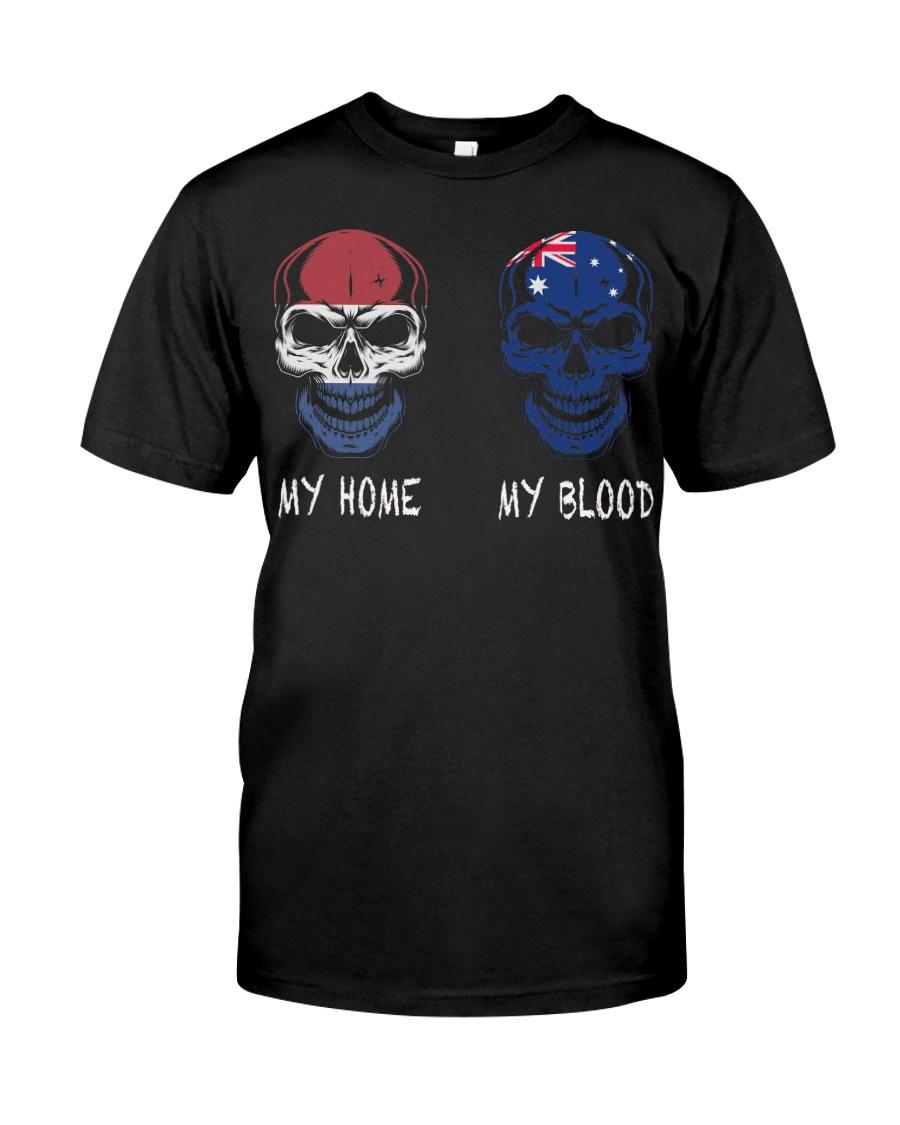 My Home Netherlands - Australia Classic T-Shirt