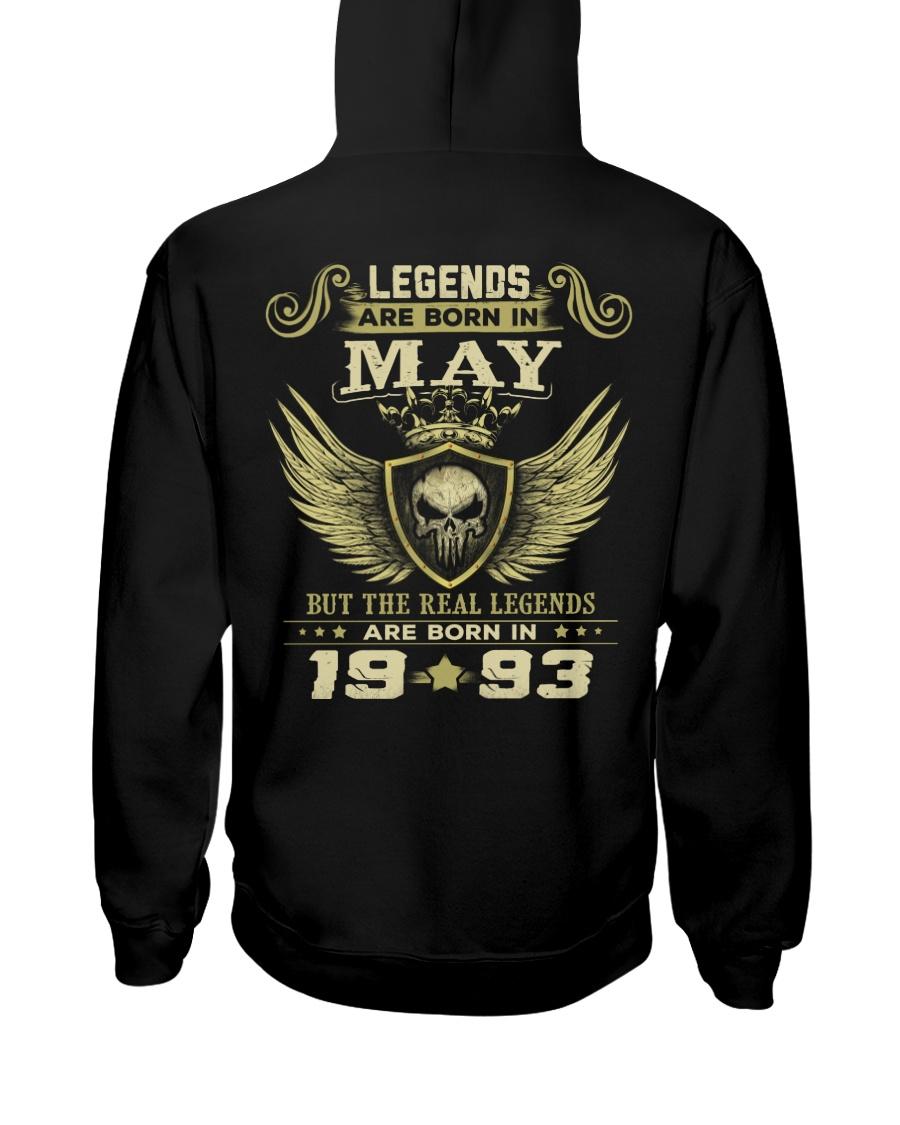 LEGENDS 93 5 Hooded Sweatshirt
