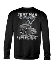 GAVE UP 6 Crewneck Sweatshirt thumbnail