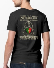 PORTUGUESE GUY - 02 Classic T-Shirt lifestyle-mens-crewneck-back-5
