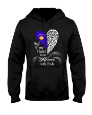 Heart - Pride Kosovo Hooded Sweatshirt thumbnail