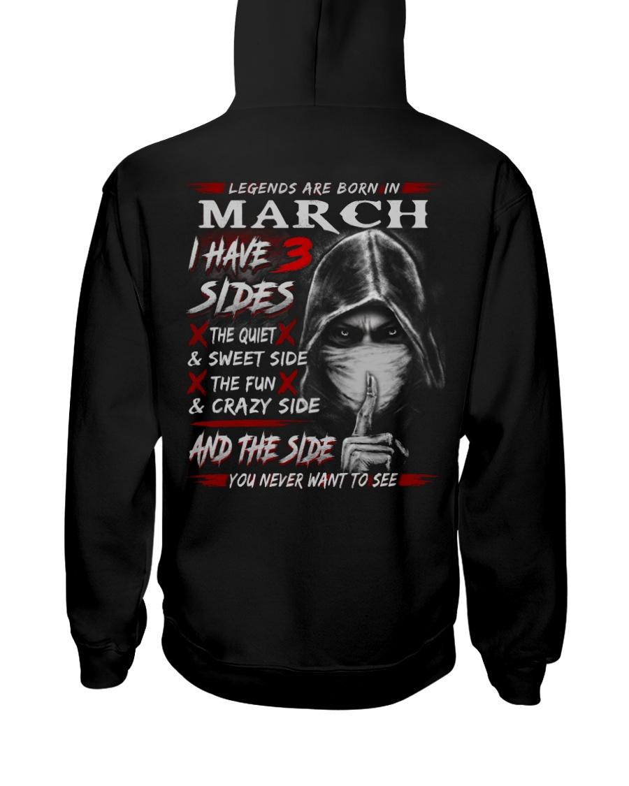 3SIDE NEW STYLE 3 Hooded Sweatshirt