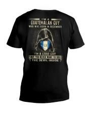 GUATEMALAN GUY - 012 V-Neck T-Shirt thumbnail
