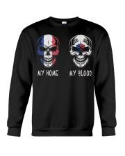 My Home France - Korea Crewneck Sweatshirt thumbnail