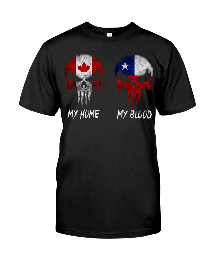 Home Canada - Blood Chile Classic T-Shirt