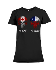 Home Canada - Blood Chile Premium Fit Ladies Tee thumbnail