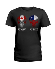 Home Canada - Blood Chile Ladies T-Shirt thumbnail