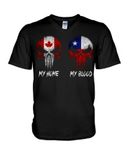Home Canada - Blood Chile V-Neck T-Shirt thumbnail