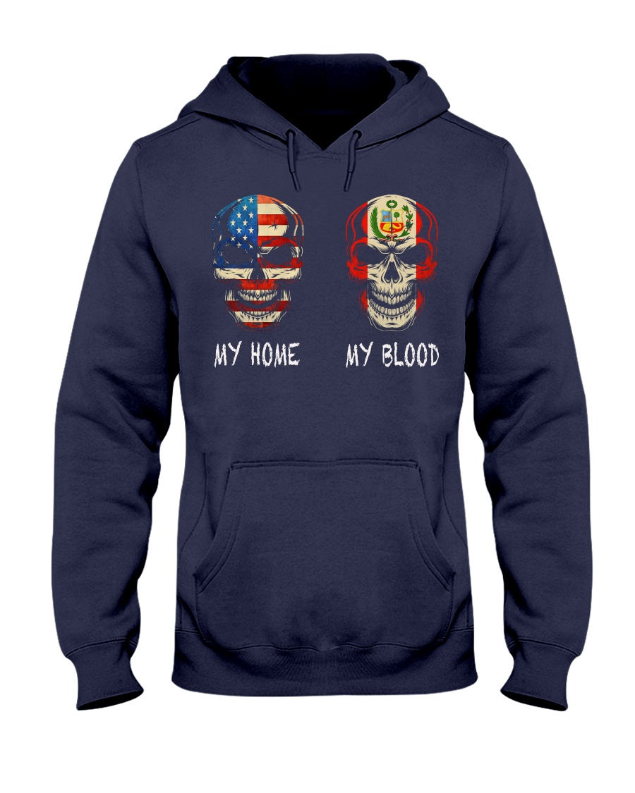 MY HOME AND MY BLOOD  Hooded Sweatshirt