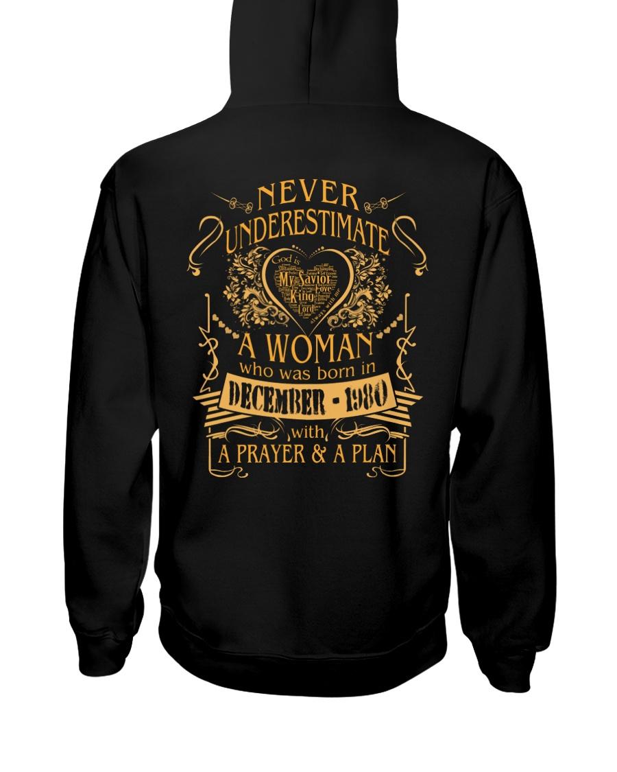 NEVER WOMAN 80-12 Hooded Sweatshirt