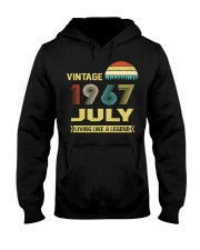 LIVING 67 7 Hooded Sweatshirt front