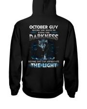 DARKNESS 10 Hooded Sweatshirt back