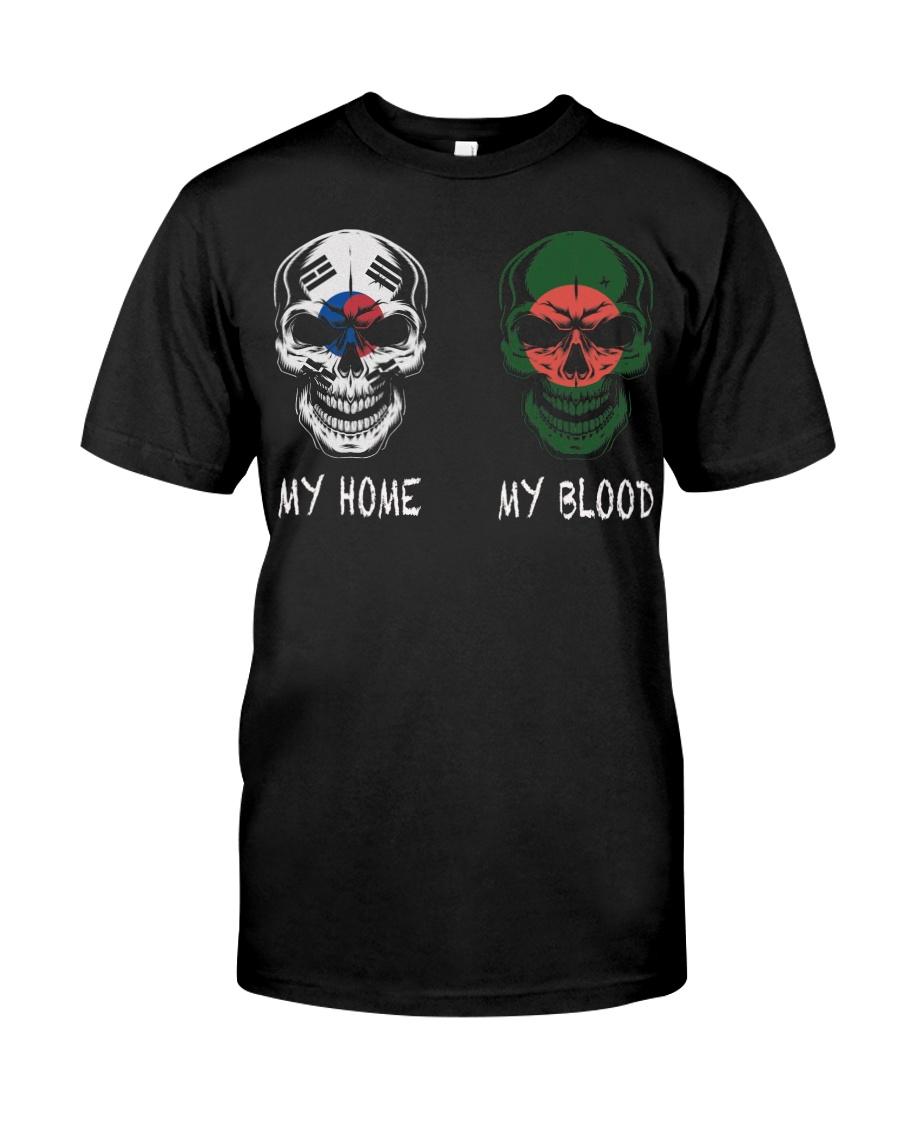 My Home Korea - Bangladesh Classic T-Shirt