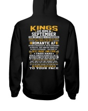 KINGS 9 Hooded Sweatshirt back