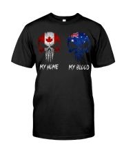 Home Canada - Blood Australia Classic T-Shirt front