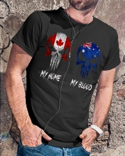 Home Canada - Blood Australia Classic T-Shirt lifestyle-mens-crewneck-front-4