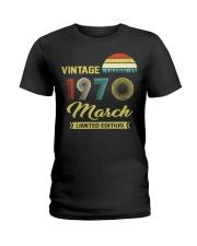 LIMITED 70 3 Ladies T-Shirt thumbnail