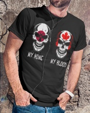 My Home Japan - Canada Classic T-Shirt lifestyle-mens-crewneck-front-4