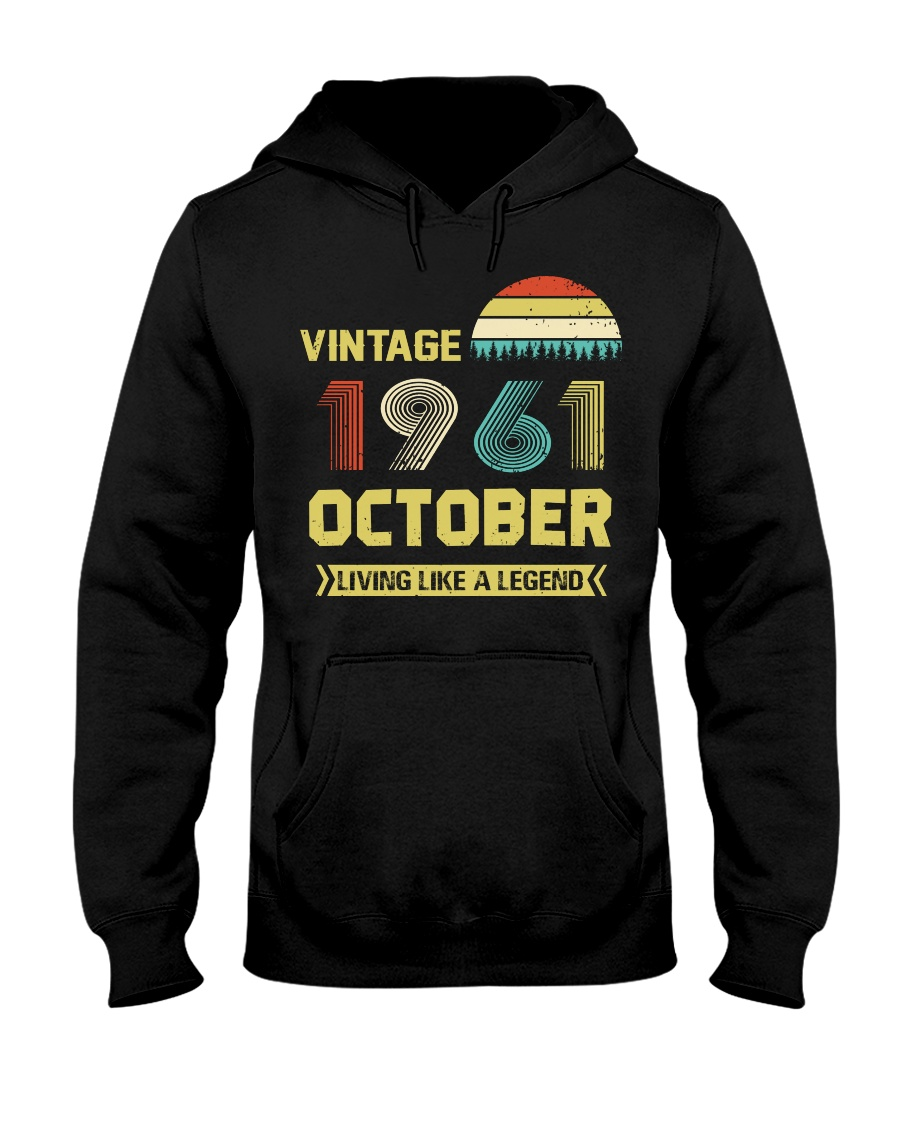 LIVING 61 10 Hooded Sweatshirt