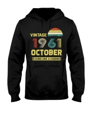 LIVING 61 10 Hooded Sweatshirt front