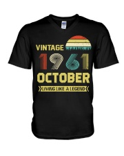 LIVING 61 10 V-Neck T-Shirt tile