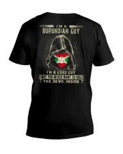 I'm A Good Guy - Burundian V-Neck T-Shirt thumbnail